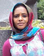 "Hiba was born in Khartoum, Sudan, and studied Molecular Biology at UAE University, United Arab Emirates, and at Uppsala University, Sweden, where she received her M.Sc. Biology in 2010. Between 2010 and 2014 she did her PhD within the IMPRS for Evolutionary Biology on ""Mus musculus helgolandicus: insights into their origin - A study based on genetic and morphometrics analysis"" in the Evolutionary Genetics group at the MPI Plön. Hiba is now doing her postdoc at the MPI for the Science of Human History in Jena, Germany. Contact: babiker@shh.mpg.de"