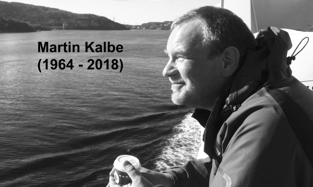 "After a serious illness, Martin Kalbe died on May 5, 2018 at the age of only 53. ""The death of Martin Kalbe deeply shocked us,"" says Managing Director Arne Traulsen, speaking for the entire staff of the institute. ""Martin Kalbe was a great scientist, colleague and person. He has supported our institute on many levels for decades. For this we are deeply grateful to him. Our compassion goes to his family and relatives."""